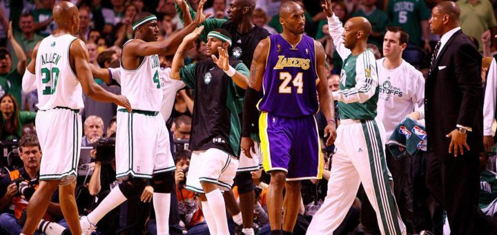Boston Celtics - Los Angeles Lakers Finały NBA 2008