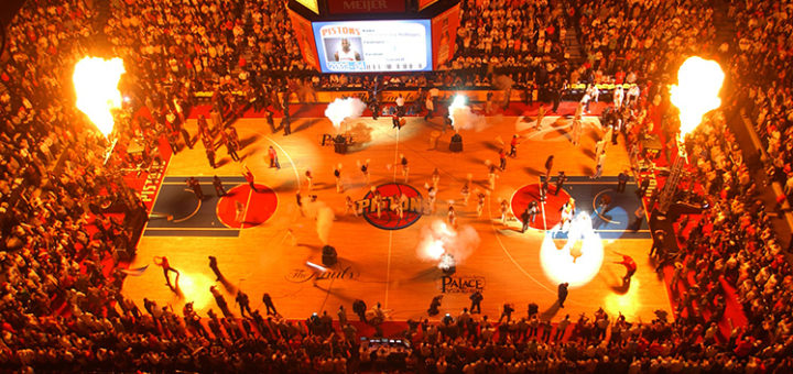 The Palace of Auburn Hills Ditroit Pistons