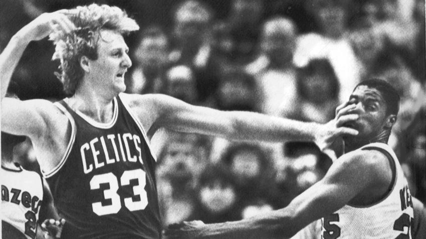 Bird LArry Boston Celtics