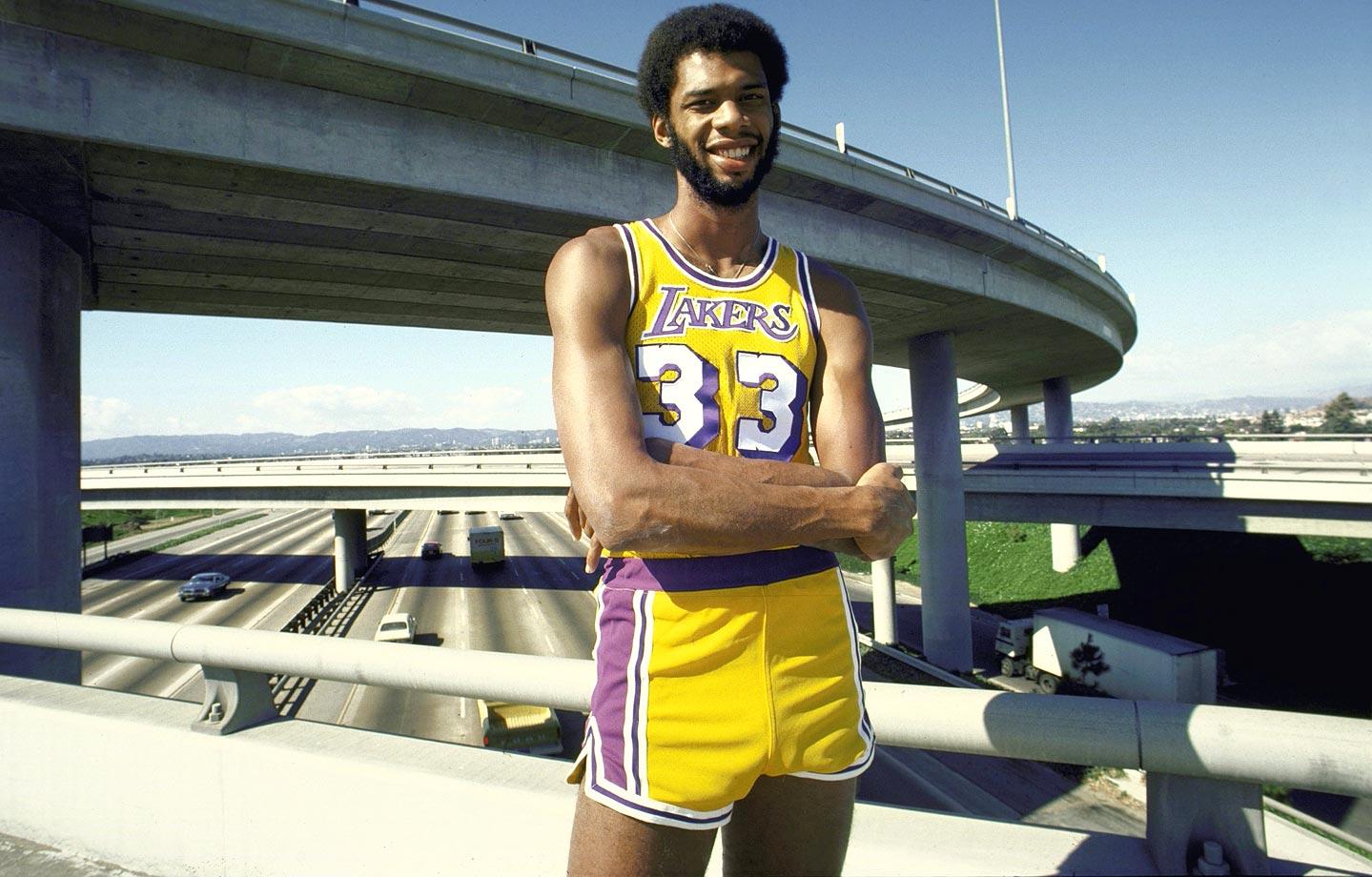 Kareem Abdul Jabbar Lakers 1975
