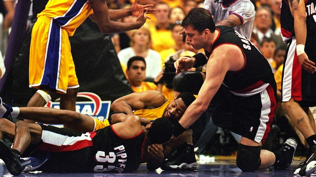 2000 NBA Western Conference Finals: Portland Trail Blazers v Los Angeles Lakers