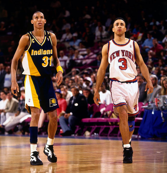 Reggie Miller vs New York Knicks