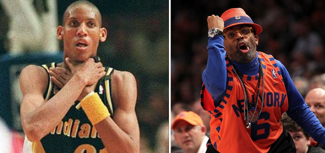 Reggie Miller vs Spike Lee