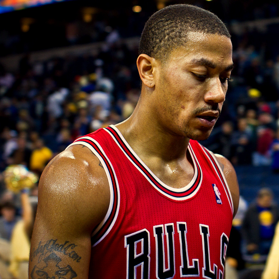 Derrick Rose Chicago Bulls 2011