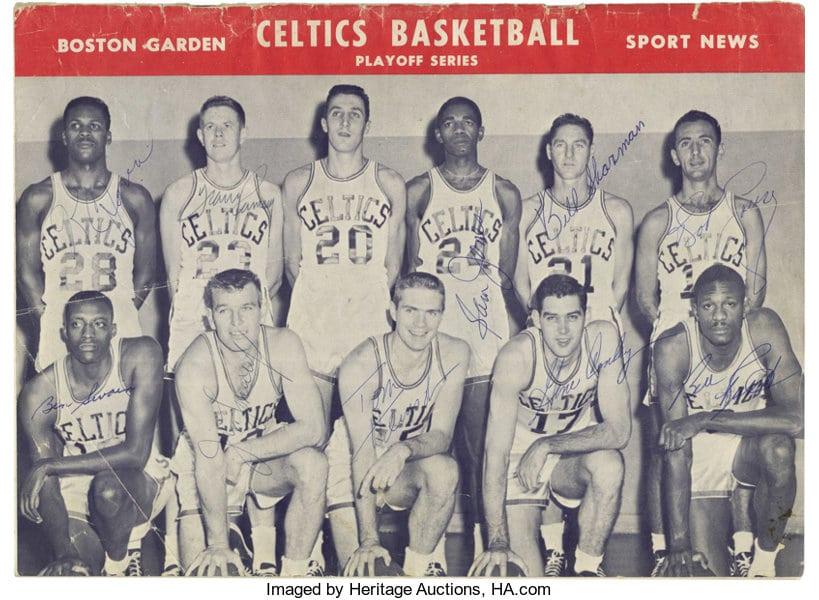 Boston Celtis 1958/59