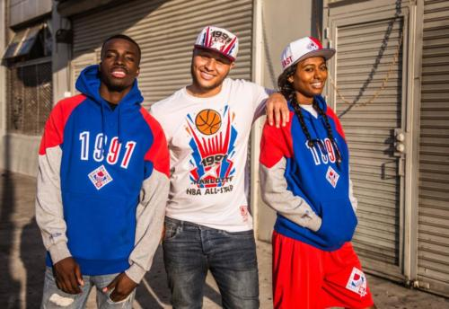 Mitchell & Ness - All Star Weekend 1991 hoodies