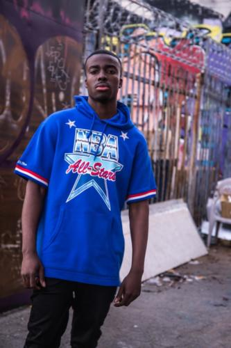 Mitchell & Ness - All Star Weekend 1991 sleeveless hoody